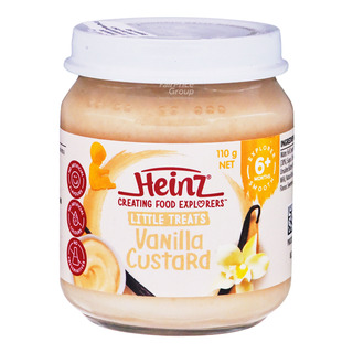 Heinz Baby Food - Vanilla Custard (6+ Months)