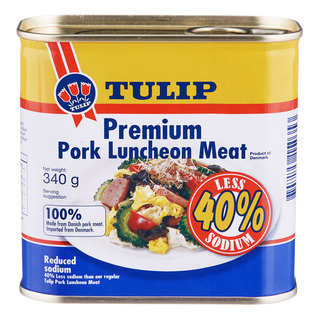 Tulip Luncheon Meat - Premium Pork (Reduced Sodium)