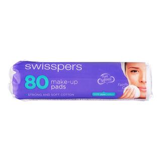 Swisspers Cotton Make-Up Pads - Round