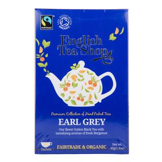 English Tea Shop Organic Tea Sachets - Earl Grey