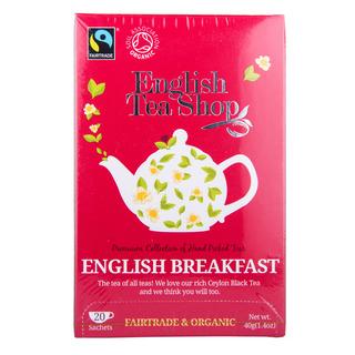 English Tea Shop Organic Tea Sachets - English Breakfast