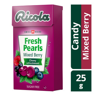 Ricola Fresh Pearls Sugar Free Candy - Mixed Berry