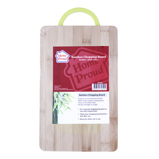 HomeProud Chopping Board - Bamboo (18 x 29cm)