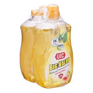 UIC Big Value Dishwashing Liquid with Refill - Pomelo
