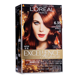L'Oreal Excellence Fashion Hair Dye-6.35IntenseCopperBrown