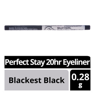 Silkygirl Perfect Stay 20hr Eyeliner - Blackest Black