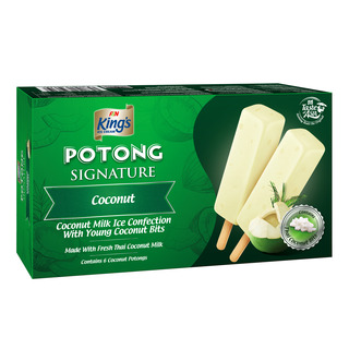 King's Potong Ice Cream - Coconut