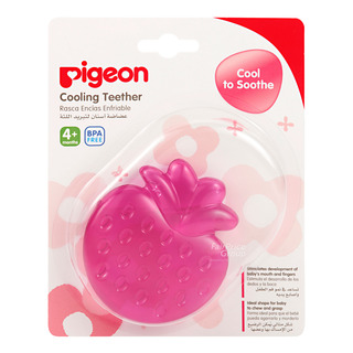 Pigeon Cooling Teether - Strawberry
