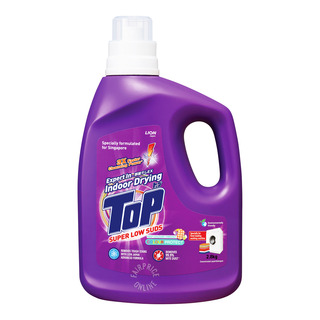 Top Concentrated Liquid Detergent Bottle - Super Low Suds