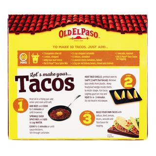 Old El Paso Taco Shells - Jumbo