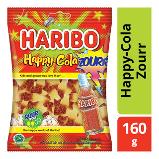 haribo gummy candies happy cola zourr 160g fairprice singapore