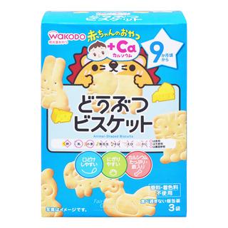 Wakodo Baby Snacks - Animal-Figured Biscuits