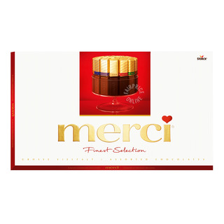 Merci Finest Selection European Chocolate - Assorted (Red)