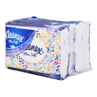 Kleenex Ultra Soft Tissue Soft Pack - Floral (3ply)
