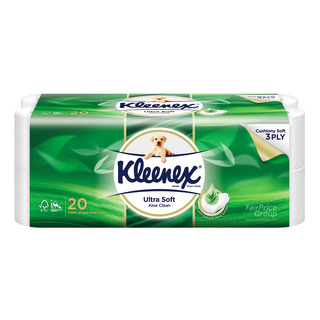 Kleenex Ultra Soft Toilet Tissue Rolls - Aloe Clean