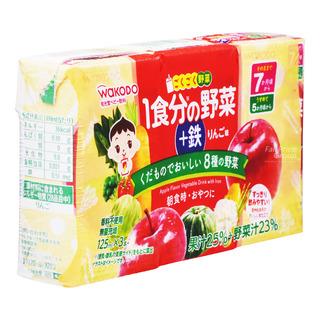 Wakodo Baby Paper Bottle Juice - Fruit and Vegetable