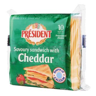 President Cheese Slices - Sandwich Cheddar