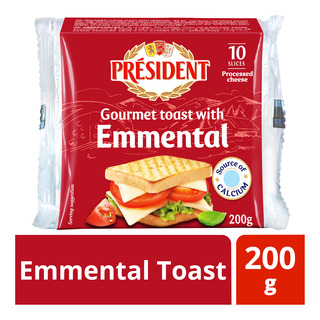 President Cheese Slices - Emmental Toast