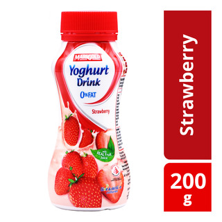 F&N Magnolia Yoghurt Bottle Drink - Strawberry