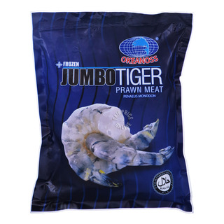 Okeanoss Frozen Jumbo Tiger Prawn Meat