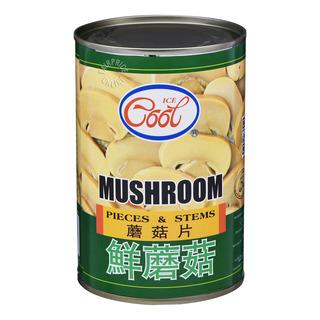 Ice Cool Mushroom - Pieces & Stems
