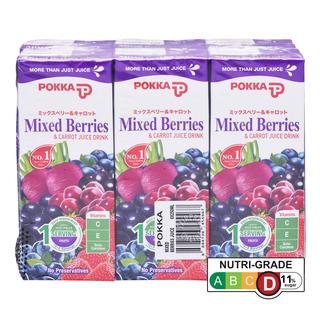 Pokka Packet Drink - Mixed Berries & Carrot Juice