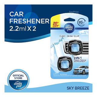 Ambi Pur Car Mini Clip Air Freshener - Sky Breeze