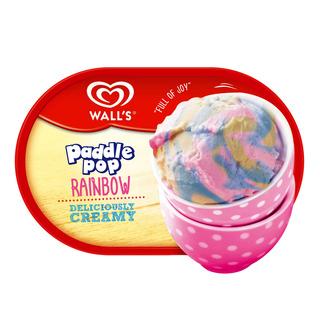 Wall's Ice Cream Tub - Paddle Pop Rainbow