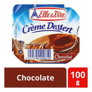 Elle & Vire Creme Dessert Cup - Chocolate ...