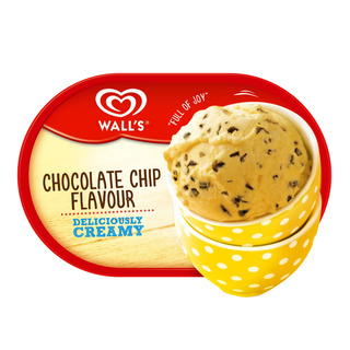 Wall's Ice Cream Tub - Chocolate Chip