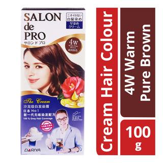 Salon de Pro The Cream Hair Colour - 4W Warm Pure Brown