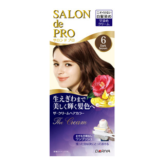 Salon de Pro The Cream Hair Colour - 6 Dark Brown