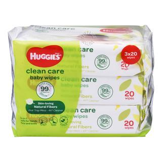 Huggies Baby Wipes - Clean Care