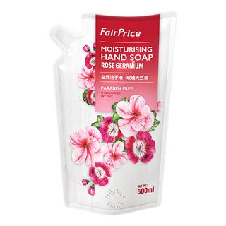 FairPrice Moisturising Hand Soap Refill - Rose Geranium