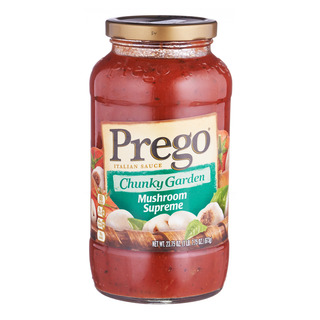 Prego Pasta Sauce - Chunky Garden Mushroom Supreme