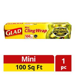 Glad Cling Wrap - Mini (100 square feet)