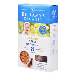 Bellamy's Organic Baby Pasta - Spelt Macaroni