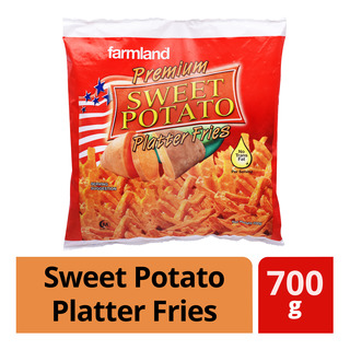 Farmland Premium Frozen Sweet Potato Platter Fries