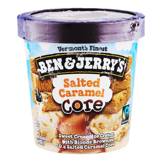 Ben & Jerry's Ice Cream - Salted Caramel Core