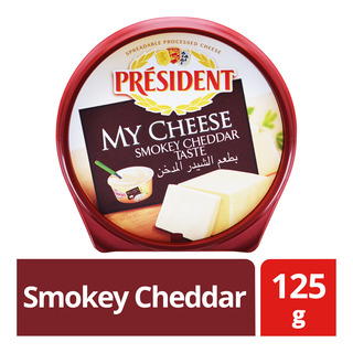 President My Cheese Spreadable Cheese - Smokey Cheddar