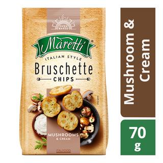 Maretti Bruschette Chips - Mushroom & Cream