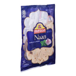 Mission Naan - Garlic & Herbs