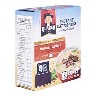 Quaker Instant Multigrain Porridge - Beef