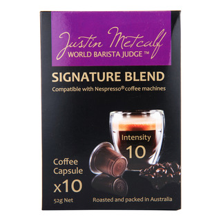 Justin Metcalf Coffee Capsules - Signature Blend