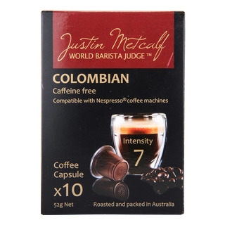 Justin Metcalf Coffee Capsules - Colombian