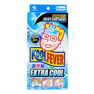 Kool Fever Cooling Gel Sheets - Extra Cool