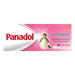 Panadol Children's Chewable Tablets - Cherry