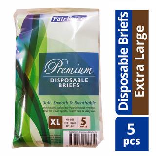 FairPrice Premium Disposable Briefs - XL