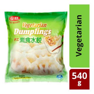 Tai Wang Frozen Dumplings - Vegetarian