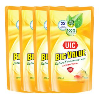 UIC Big Value Dishwashing Liquid Refill - Anti-Bacterial